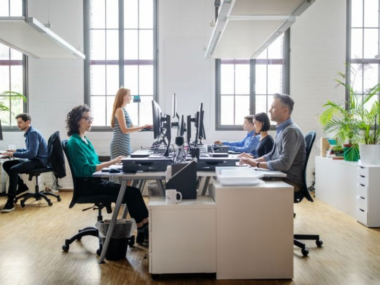 What are the pros and cons of working from a small office?